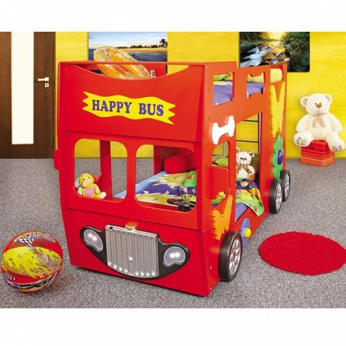 Patut in forma de masina Happy Bus